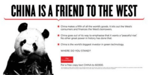 China is a Friend to the West